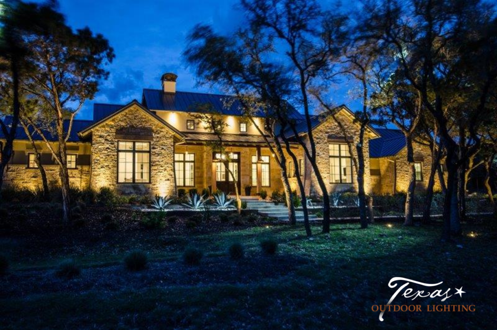Questions to ask potential landscape lighting companies texas a good landscape lighting design will increase the safety and security of your property transform your dark outdoor spaces to warm and inviting living workwithnaturefo