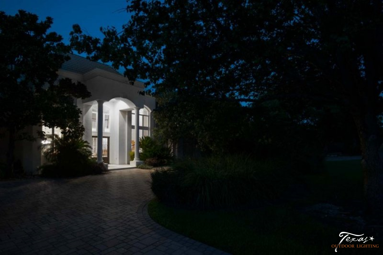 Before and After Lighting Gallery - Texas Outdoor Lighting